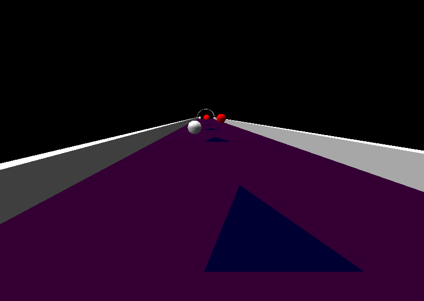 Screenshot of 3D Rolling Balls