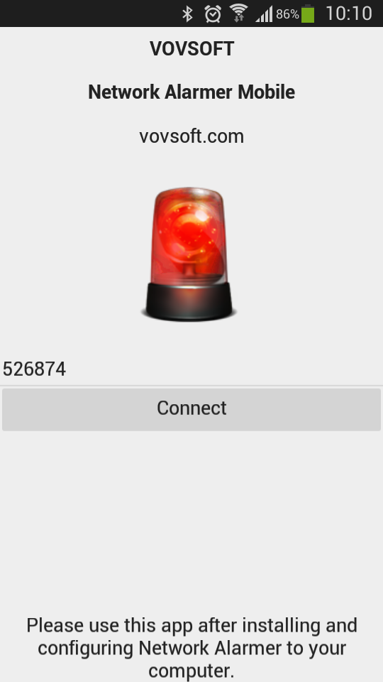 Network Alarmer Mobile full screenshot