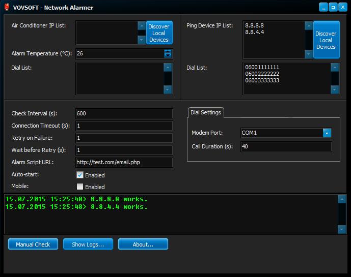 Network Alarmer – 网络设备监控工具[Windows][→0]
